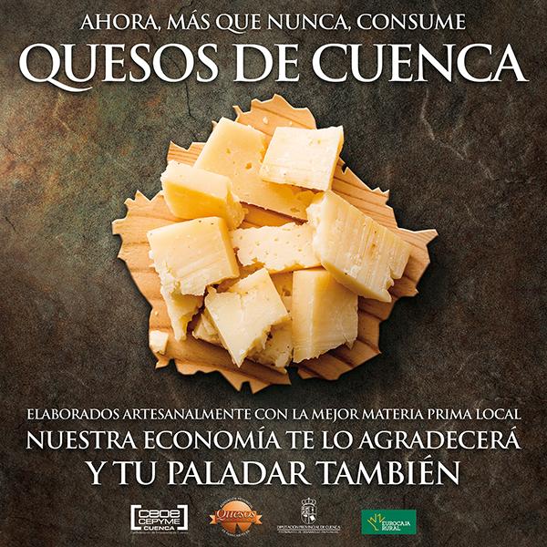 Los fabricantes de queso de Cuenca animan al consumo de queso elaborado en el provincia