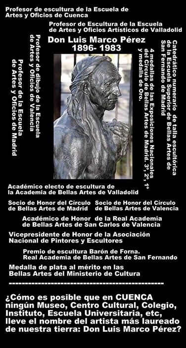 Una campaña por internet solicita que el IES número 7 de Cuenca se llame Luis Marco Pérez