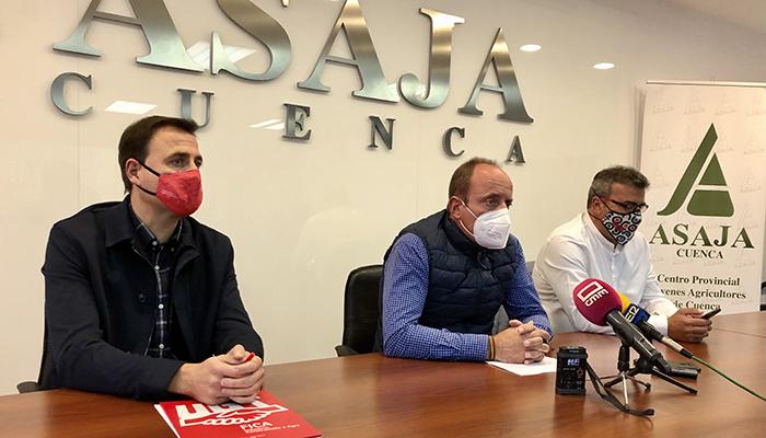 ASAJA, UGT y CCOO llegan a un acuerdo para el convenio colectivo del campo 2020 y 2021 que afecta a 10.000 trabajadores en Cuenca