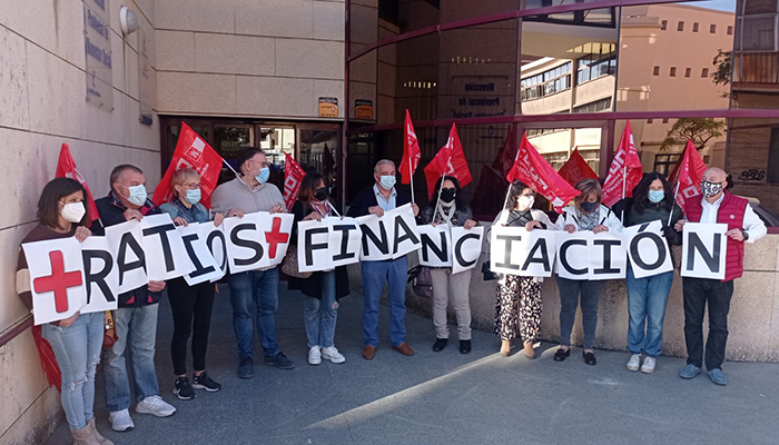 CCOO se moviliza en Cuenca para exigir a la Junta y a las empresas y patronales de residencias privadas de mayores la dignificación del sector de la Dependencia
