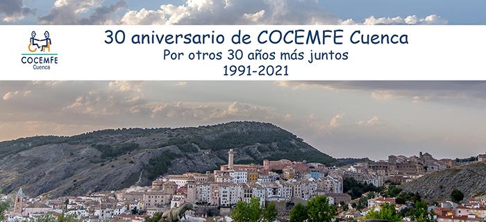 COCEMFE Cuenca cumple 30 años de su constitución