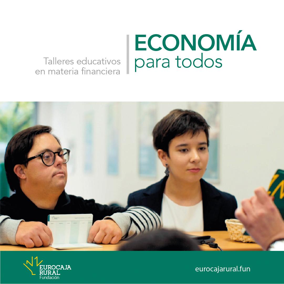Comienza la nueva edición de talleres en materia financiera 'Economía para todos', organizados por Fundación Eurocaja Rural y Plena Inclusión CLM