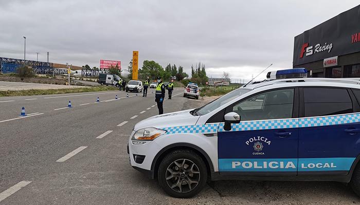 Control Policía Local Cuenca