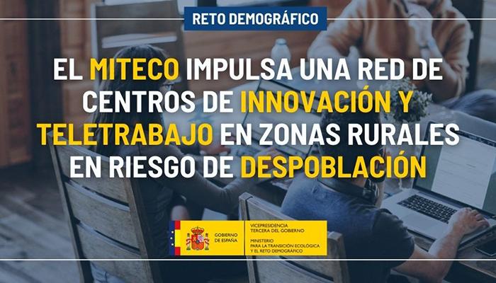 Cuenca estrena una red de centros de innovación y teletrabajo en zonas rurales en riesgo de despoblación impulsada por el MITECO