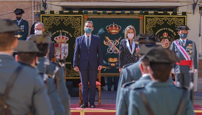 El delegado del Gobierno de España en Castilla-La Mancha considera a la Guardia Civil una pieza imprescindible para abordar el reto demográfico