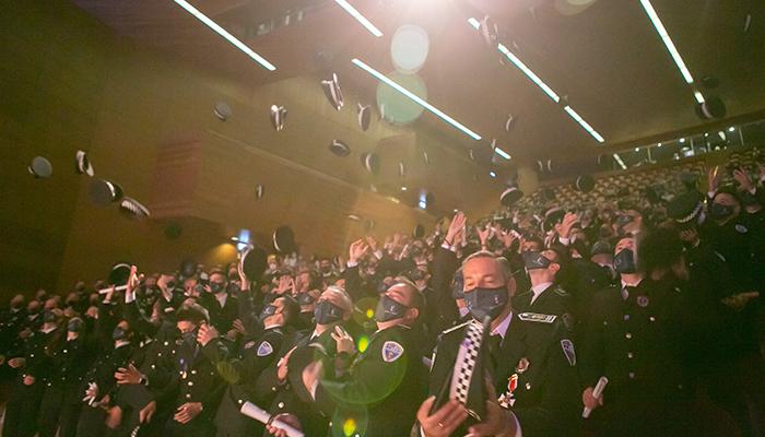 El Gobierno de Castilla-La Mancha forma a 300 nuevos agentes y mandos de la Policía Local durante la pandemia