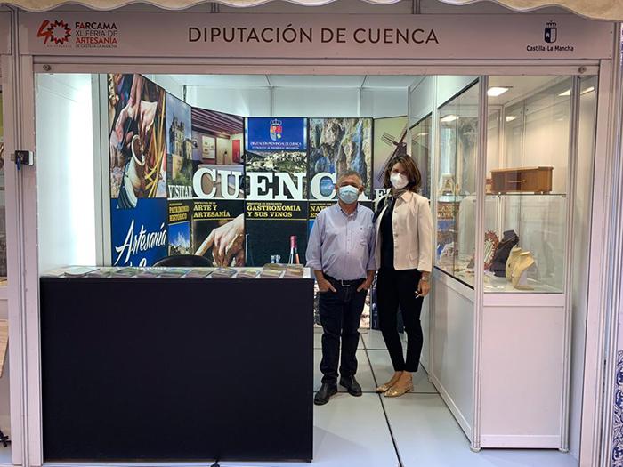El Patronato de Desarrollo Provincial de Cuenca colabora con siete artesanos y artesanas conquenses para que estén en FARCAMA