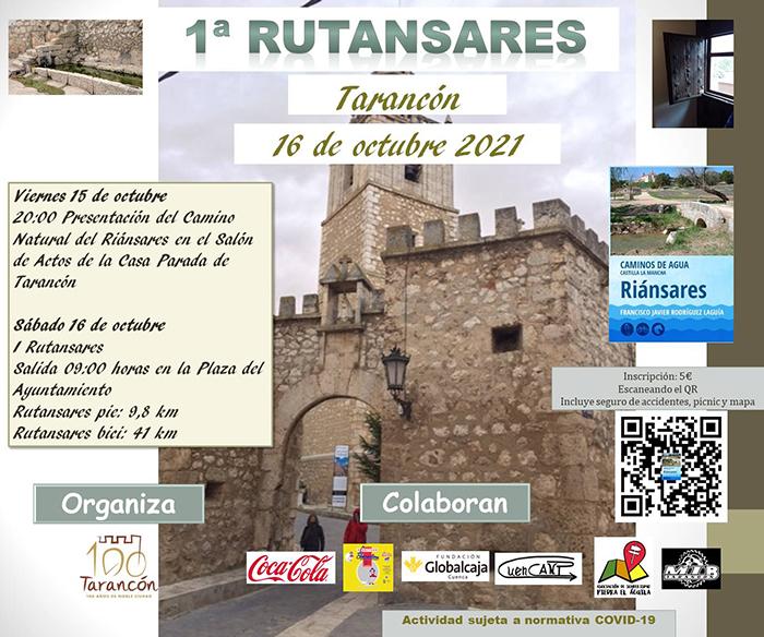La I RUTANSARES tendrá lugar en la ciudad de Tarancón el fin de semana del 15 y 16 de octubre