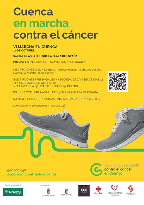 """Nueva edición de """"En marcha contra el cáncer"""" en Cuenca"""