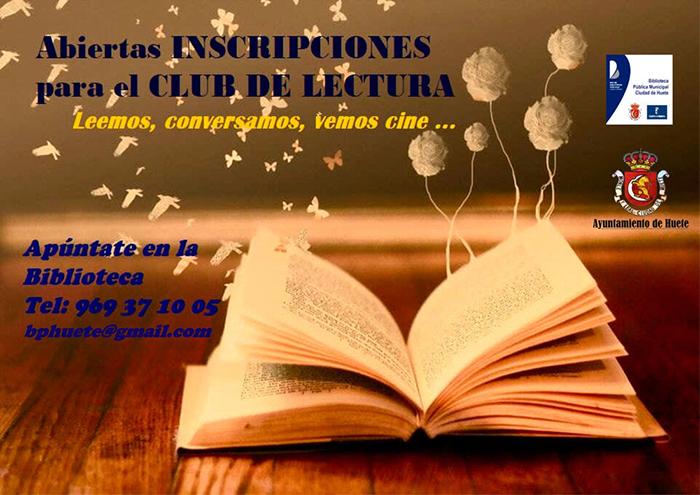 Quinta temporada del Club de Lectura de Huete ¡Apúntate!