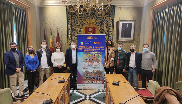 Un total de 850 deportistas participarán en Cuenca en el Campeonato de España de Atletismo Sub16 por autonomías